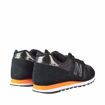 New Balance ML373MB Men Lifestyle Shoes (Black & Orange) .