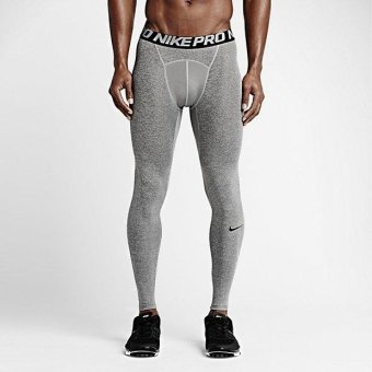 NIKE MEN PRO TIGHT CARBON GREY 703098-091 S-2XL 01' - intl