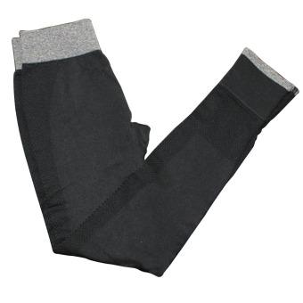 Nine minutes Yoga pants elastic movement quick-drying running tightleggings( Black)
