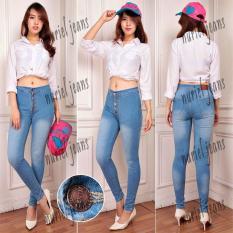 NJ Nuriel Jeans Celana Jeans Wanita Premium Quality Skinny High Waist 5 .