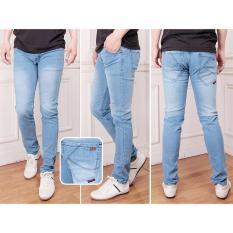 Nusantara Jeans - Celana Panjang Pria Berbahan Denim Model Slim Fit - Bio Bliz