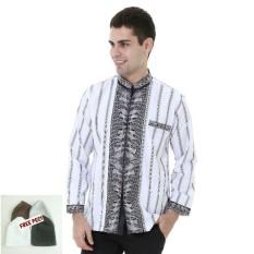 Ormano Baju Koko Muslim Batik Lengan Panjang Lebaran Zo17 Kk58 Source · Lebaran Hari Raya Pengajian ZO17 KK97 Kemeja Fashion Pria Corak Masa Kini Modern