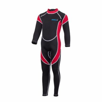 Ocean Children A bathing suit Diving suit conjoined To keep warm 2.5 mm Long -sleeved