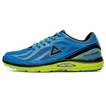 Olimpiade musim gugur dan musim dingin baru yang berat itu non-slip kebugaran sepatu sepatu running (Kristal es biru/hitam)