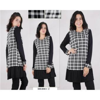 Oma Fashion Blessing Tunik Flanel Long Sleeve - 2 Warna - M