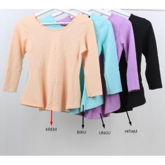 Oma Fashion Kartika Blouse Pita Casual-4 Warna Size-M