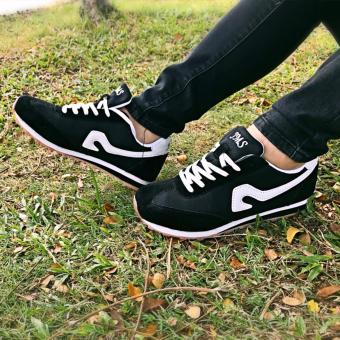 Onemarkets Sepatu Olahraga Sepatu Lari Cewek M - Hitam
