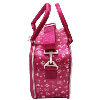 Hot Deals Onlan Tas Travel Minnie Mouse Bahan Kanvas Halus Import - Pink terbaik murah -