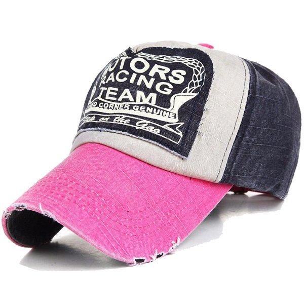 Flash Sale Ormano Topi Baseball Snapback Cap Motor Racing Team K056 - Pink 4d76a2240d