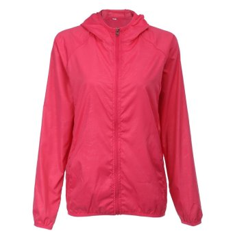 Outdoor Sport Hiking Camping Cepat Kering Jaket Breathable Waterproof Ringan Mantel-Intl