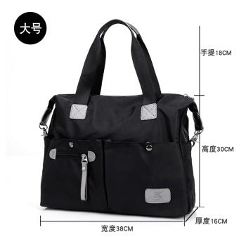 kecil tas bahu Messenger Bag (Coklat). Source · Oxford kain .