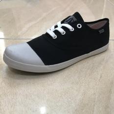 PADIE - Sepatu Sneakers CAPOEIRA BLACK WHITE by Ardiles /sepatu casual/santai/sekolah/kerja/kanvas