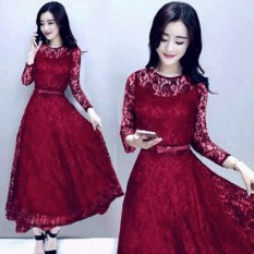 Pakaian Wanita Fashionable - Dress Long Shabby