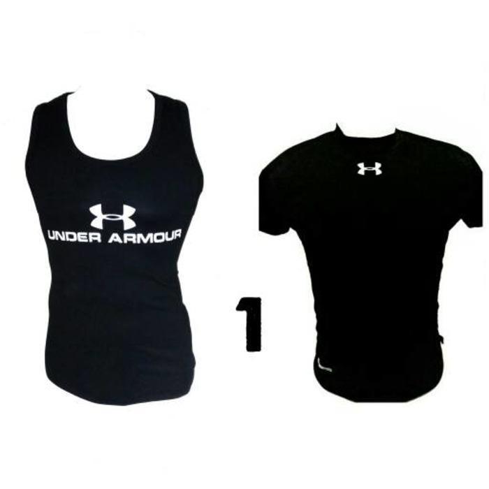 Bandingkan Toko paket baselayer manset singlet kaos underarmour gym fitness  harga baru - Hanya Rp97. 7b80cd2bf1