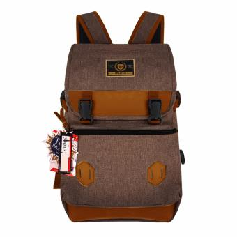 Detail Gambar Palazzo Tas Ransel Korea 300131-18 Size 18 Inchi New Design Original - Coffee Terbaru