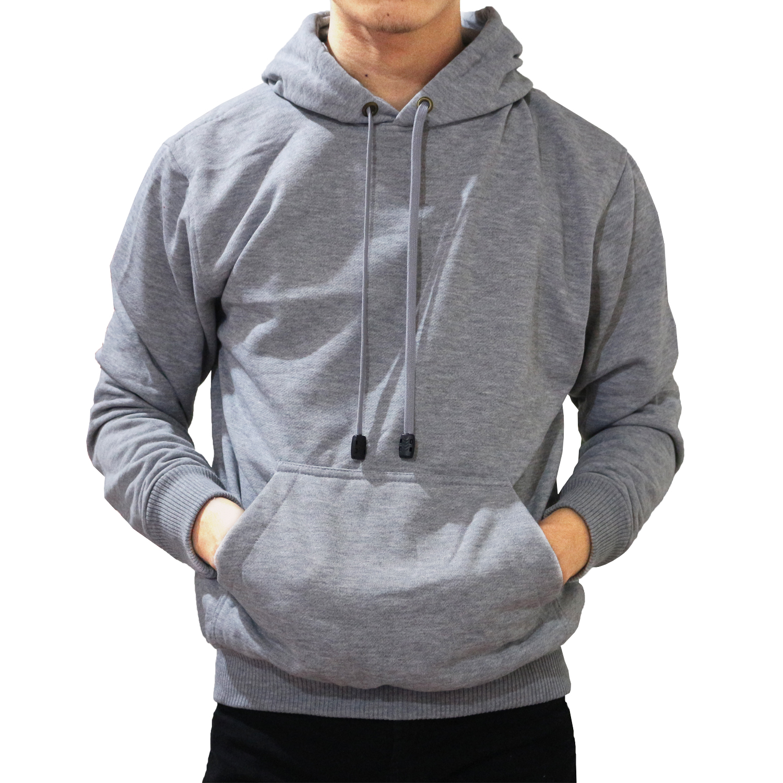Palemo Jaket Sweater Polos Hoodie Jumper Misty Muda -Unisex ...