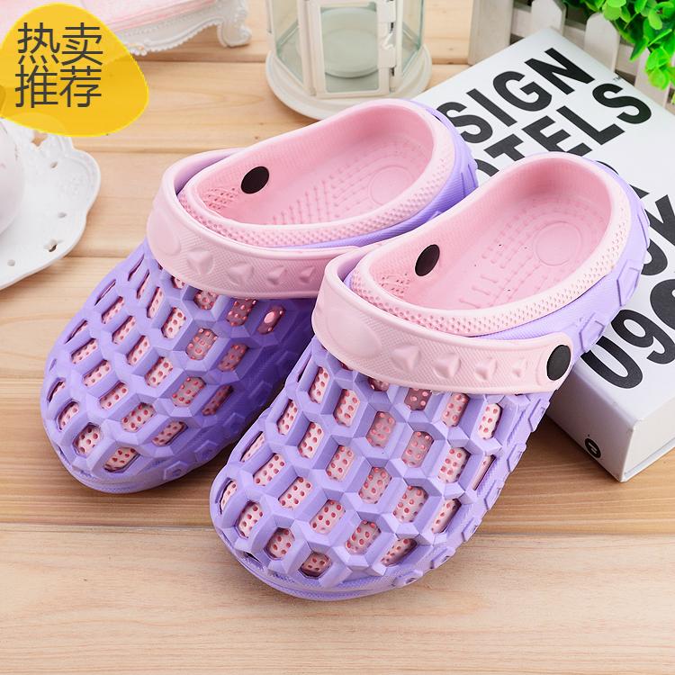 Pantai Anak kecil jelly sepatu lubang bayi sandal dan sandal ((Dianjurkan untuk menembak besar