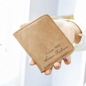 Perempuan lulur siswa lucu nol dompet dompet kecil (Coklat)