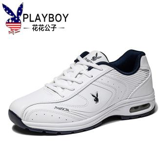Harga PLAYBOY kasual ringan sepatu deodoran pria (Putih biru tua ... 96b6d8f716