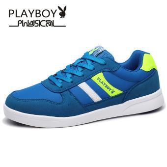 PLAYBOY musim semi sepatu pria sepatu sepatu (Biru)