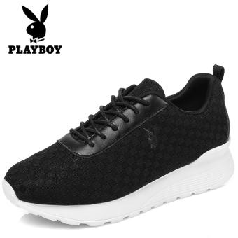 Beli PLAYBOY Putih Perempuan Bernapas Sepatu Olahraga Sepatu (Hitam) Online b0c5e1b072