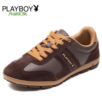 PLAYBOY Tren Board Sepatu Sepatu Cortez Nike Sepatu Pria (Kopi)