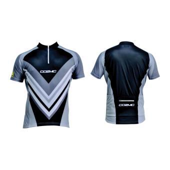 harga Polygon Jersey Cozmic Short Sleeves - Hitam Lazada.co.id
