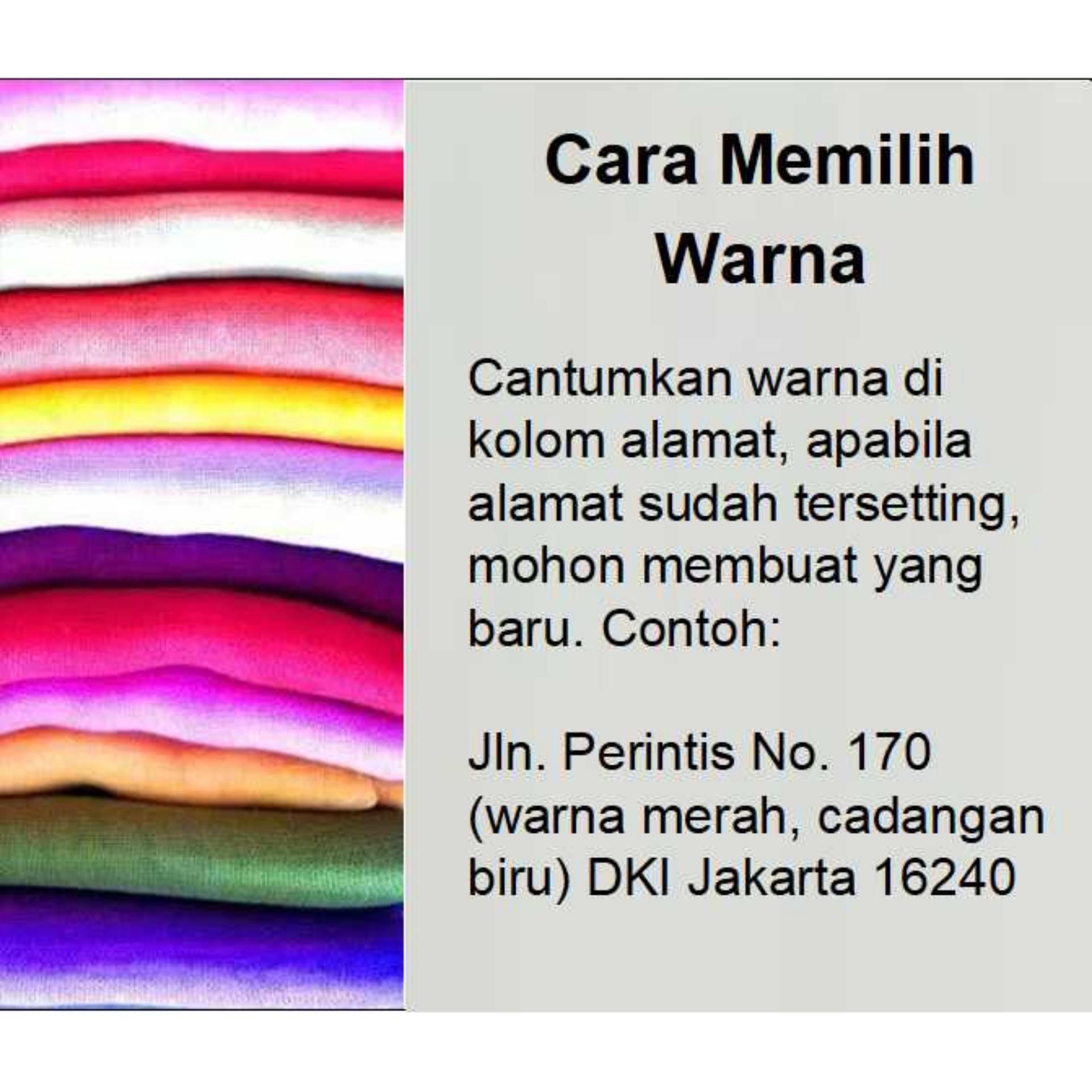 Perbandingan Harga Premium Hijab Impor Jilbab Instan Lcb Najwa Kaos Katun Tc Biru Instant Khimar Syari