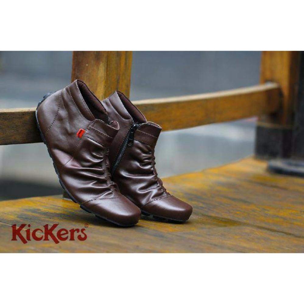 Distro Bandung Vr 395 Sepatu Formal Pria Untuk Kerja Kantor Kulit Source · SEPATU KICKERS CASUAL