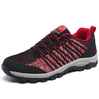 Pria bernapas Olahraga Sepatu Hiking Sepatu Gunung Climbing Sepatu Trekking Sepatu Travelling Sepatu Men's Super Breathable Outdoor Sports Shoes Hiking Shoes Mountain Climbing Shoes Trekking Shoes