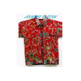 PROMO Kemeja Hem Atasan Baju Batik Anak Laki Laki 1035 MURAH - 3