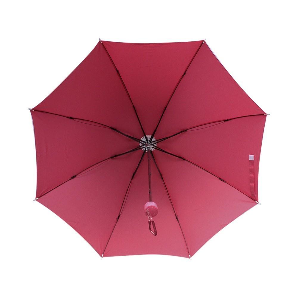 PSE Souvenir Online Payung Lipat Corak Basah - Pink .
