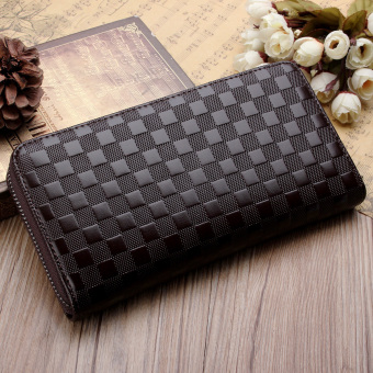 Cari Harga Fashion Wanita Bifold Wallet Pu Kopling Keemasan Int One Source · PU Leather Men