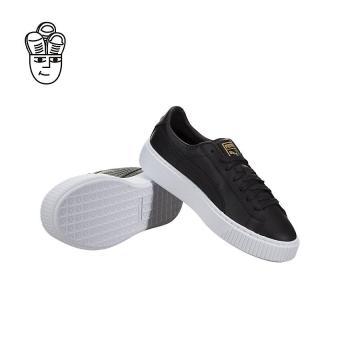 Harga Puma Basket Platform Core Retro Shoes Puma Black / Gold 36404003 -SH Murah