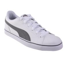 Puma Court Point Vulc v2 Tennis Shoes - Puma White-Smoked Pearl