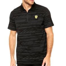 PUMA Kaos polo Ferrari - 76229602 - hitam