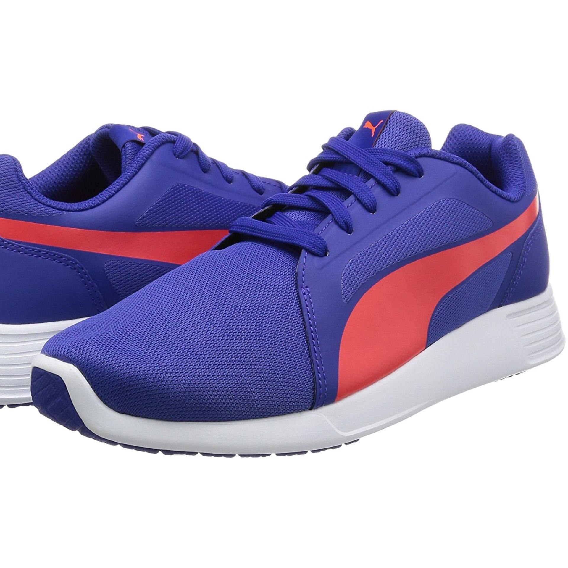 Puma St Trainer Evo V2 Slip On Sepatu Lari Pria Toreador Shoes Pacer Barbados Cherry Merah Training 35990415 Biru