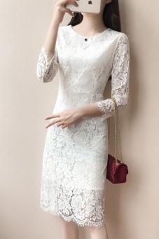 Harga Qiudong Korea Fashion Style Baru Slim Adalah Baju Tipis Putih Indonesia Katalog Harga