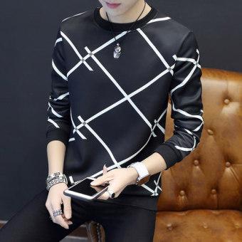 Qiuyi anak laki-laki pada pria t-shirt penuh kasih kemeja (Banyak X