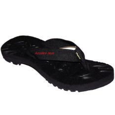 Rafila Aldhino Collection Sandal Jepit Hitam polos