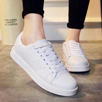 RAFISHASHOES-Sepatu Bolong Samping [WHITE]