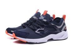 Reebok FURY BERADAPTASI Running Shoes Cahaya Nyaman Menjalankan Sepatu Pria Cashion Sepatu (Orange biru)