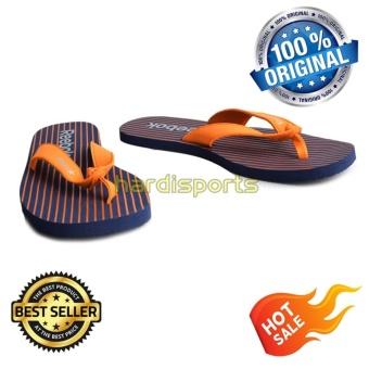 harga Reebok Sandal Stripe Flip LP BS7707 - Blue Lazada.co.id