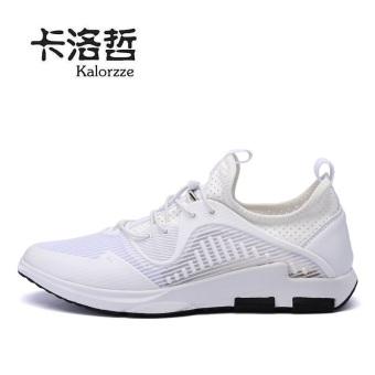2fcd0ddcd91d4 Harga Remaja laki-laki sepatu running laki-laki sepatu (Model laki-laki +  Putih) Ori