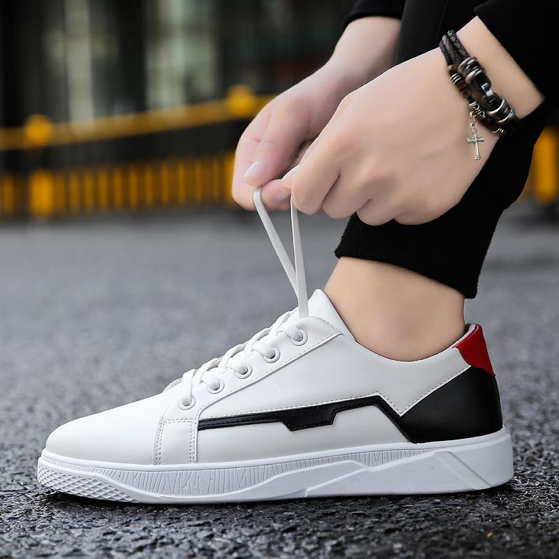 Periksa Peringkat Remaja Siswa Sepatu Trendi Sepatu Pria (Putih ... 2ab86bc521