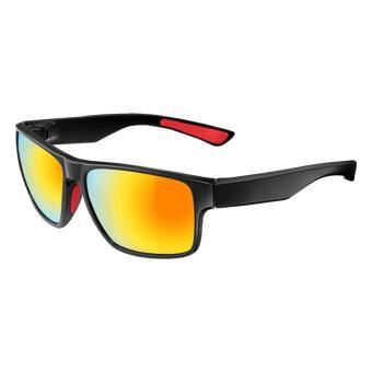 Detail Gambar ROCKBROS Polarized Bicycle Cycling SunGlasses Goggles Eyewearglasses Four Style(10075 Black Wine Red) - intl Terbaru
