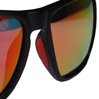... ROCKBROS Polarized Bicycle Cycling SunGlasses Goggles Eyewearglasses Four Style(10075 Black Wine Red) ...