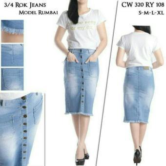 Rok Span Blue Jeans