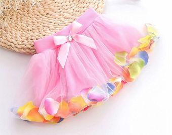 Harga Rok Tutu Anak Perempuan Princess Kelopak Gaun Pesta Gaun