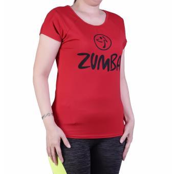 Ronaco Baju Senam Zumba - Merah XL